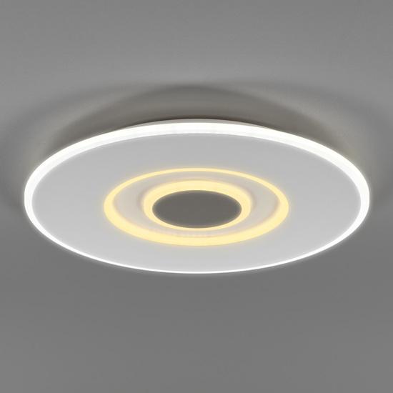 Фото №4 Потолочный светодиодный светильник с ПДУ 90219/1 белый/ серый