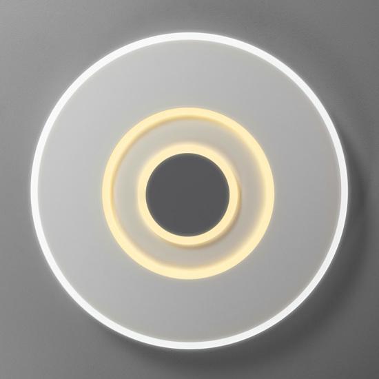 Фото №5 Потолочный светодиодный светильник с ПДУ 90219/1 белый/ серый