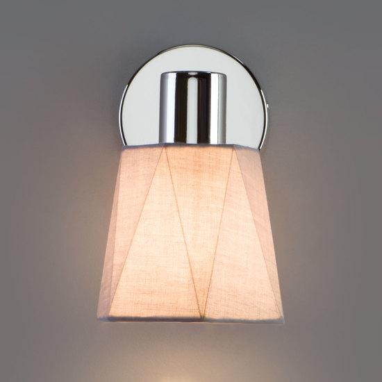 Фото №7 Настенный светильник с выключателем 20087/1 хром/серый