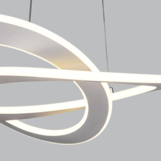 Фото №7 Светодиодная люстра с управлением по Wi-Fi 90217/1 белый