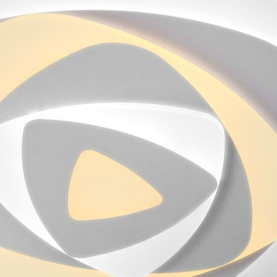Фото №3 Светодиодный потолочный светильник с пультом управления 90212/1 белый