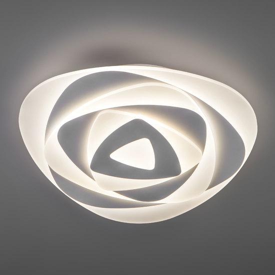 Фото №5 Светодиодный потолочный светильник с пультом управления 90212/1 белый