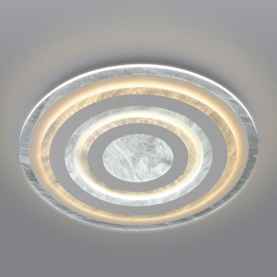 Фото №2 Потолочный светодиодный светильник с пультом управления 90209/1 белый