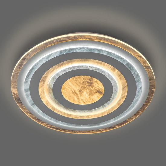 Фото №3 Потолочный светодиодный светильник с пультом управления 90209/1 белый