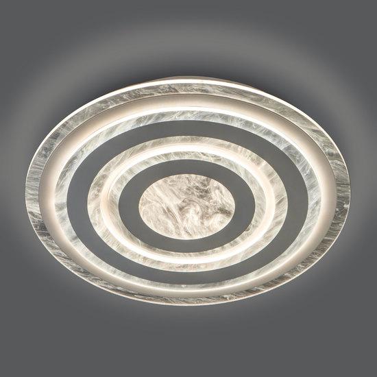 Фото №4 Потолочный светодиодный светильник с пультом управления 90209/1 белый
