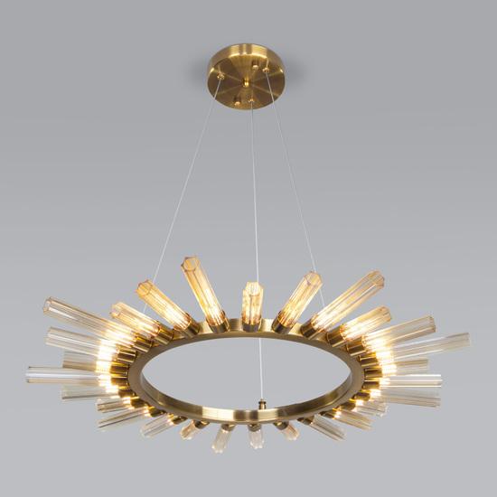 Фото №2 Подвесной светильник со стеклянными плафонами 557