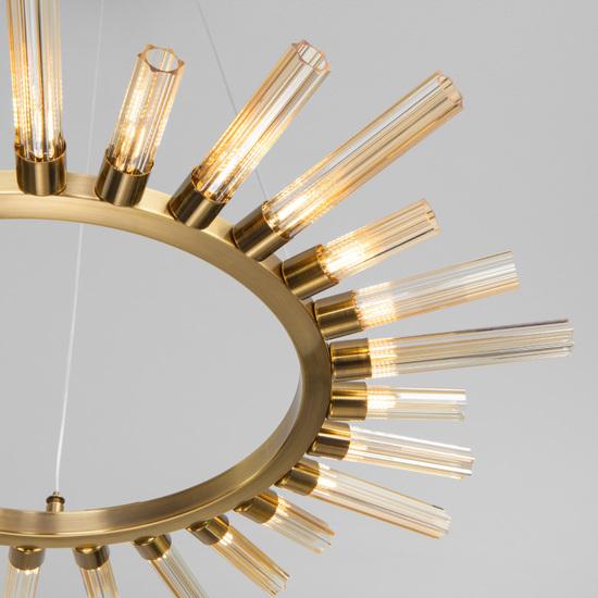 Фото №3 Подвесной светильник со стеклянными плафонами 557