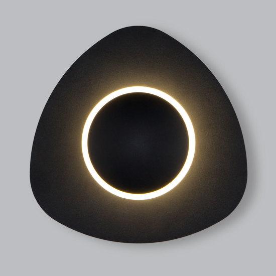 Фото №2 Настенный светодиодный светильник 40151/1 LED черный