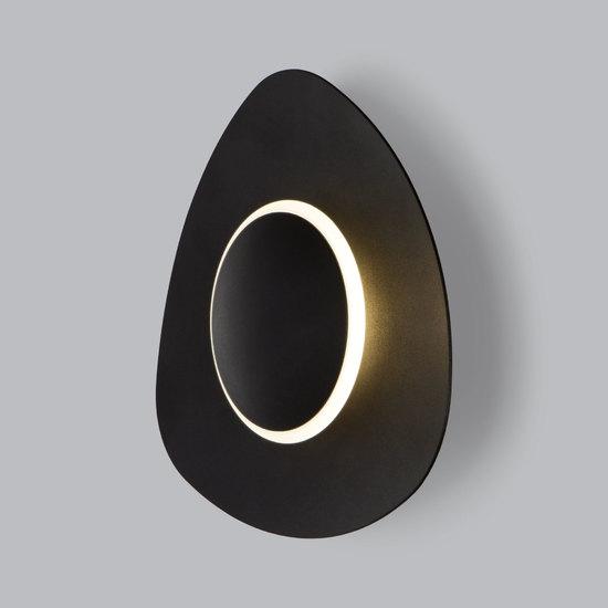 Фото №4 Настенный светодиодный светильник 40151/1 LED черный