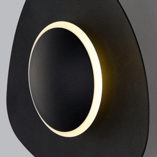 Фото №5 Настенный светодиодный светильник 40151/1 LED черный