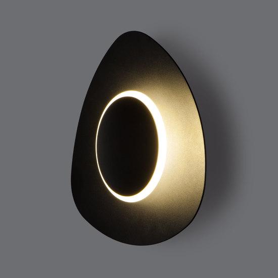 Фото №6 Настенный светодиодный светильник 40151/1 LED черный