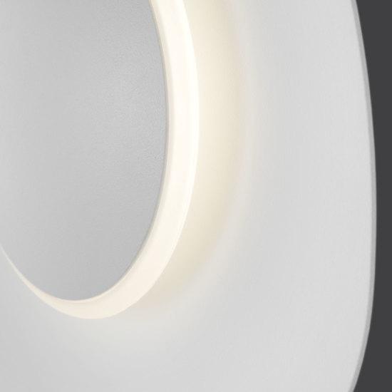 Фото №5 Настенный светодиодный светильник 40151/1 LED белый