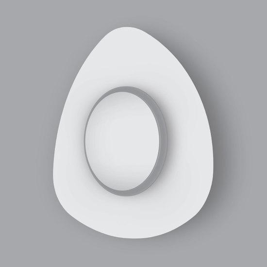 Фото №7 Настенный светодиодный светильник 40151/1 LED белый