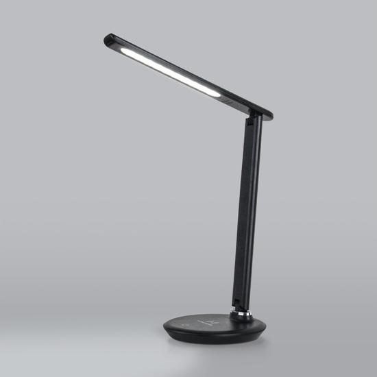 Фото №2 Настольный светодиодный светильник Brava черный TL90530