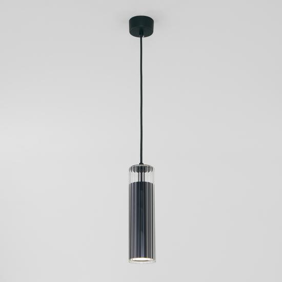 Фото №3 Подвесной светодиодный светильник 50187/1 LED черный