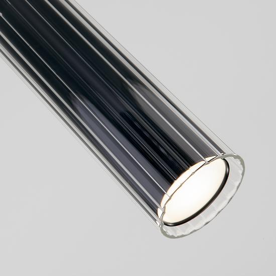 Фото №4 Подвесной светодиодный светильник 50187/1 LED черный