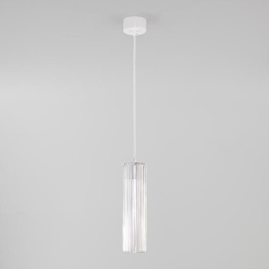 Фото №3 Подвесной светодиодный светильник 50187/1 LED белый