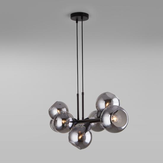 Фото №4 Подвесной светильник со стеклянными плафонами 70113/8 дымчатый