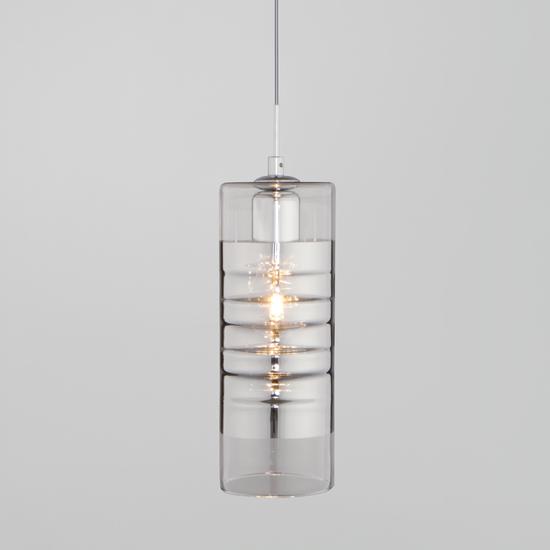 Фото №2 Подвесной светильник со стеклянным плафоном 50185/1 хром