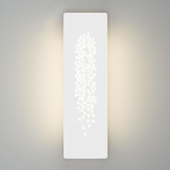 Фото №2 Настенный светодиодный светильник 40149/1 LED белый