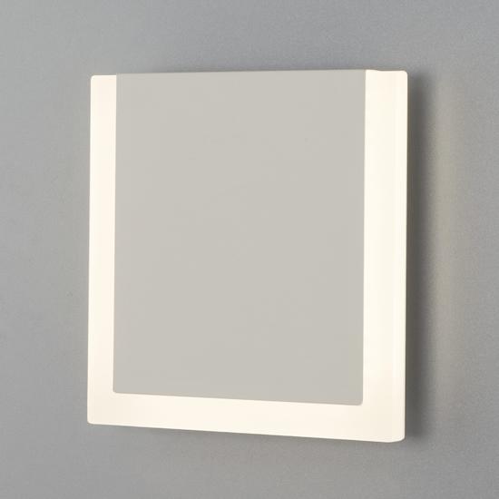 Фото №3 Настенный светодиодный светильник 40146/1 LED белый