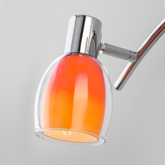 Фото №4 Настенный светильник с поворотными плафонами 20119/3 оранжевый