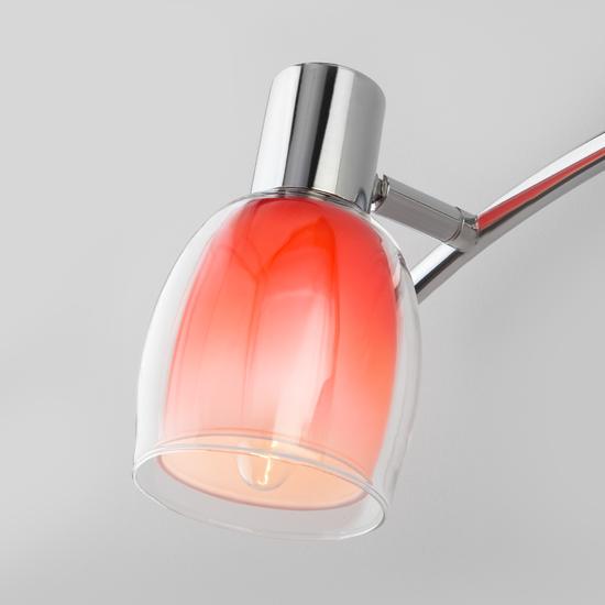 Фото №4 Настенный светильник с поворотными плафонами 20119/3 красный