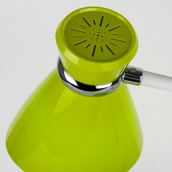 Фото №5 Настольный светильник с выключателем 01077/1 зеленый