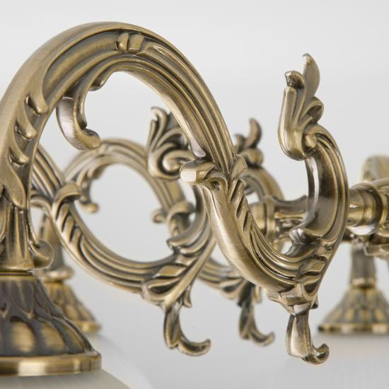 Фото №4 Классическая потолочная люстра 60106/8 античная бронза
