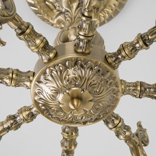 Фото №5 Классическая потолочная люстра 60106/8 античная бронза
