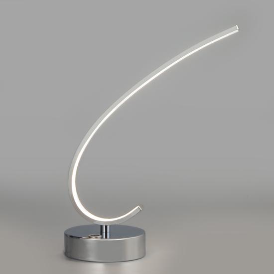 Фото №3 Настольный светодиодный светильник с сенсорным выключателем 80416/1 хром