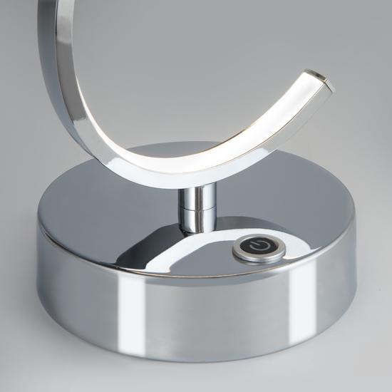 Фото №4 Настольный светодиодный светильник с сенсорным выключателем 80416/1 хром