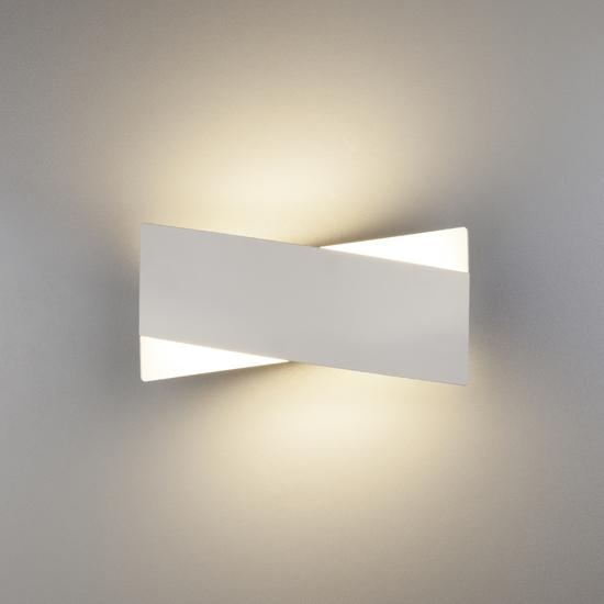 Фото №4 Настенный светодиодный светильник 40145/1 LED белый