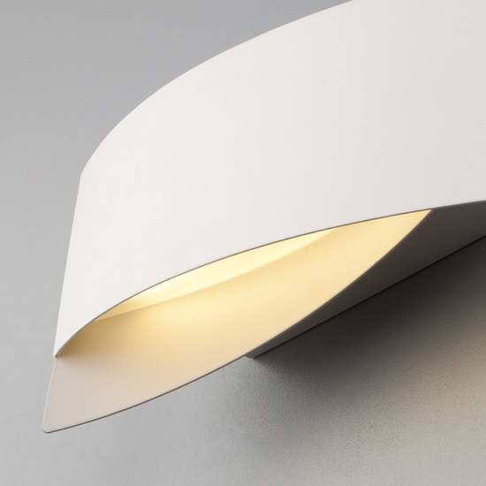 Фото №5 Настенный светодиодный светильник 40145/1 LED белый