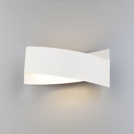 Фото №6 Настенный светодиодный светильник 40145/1 LED белый