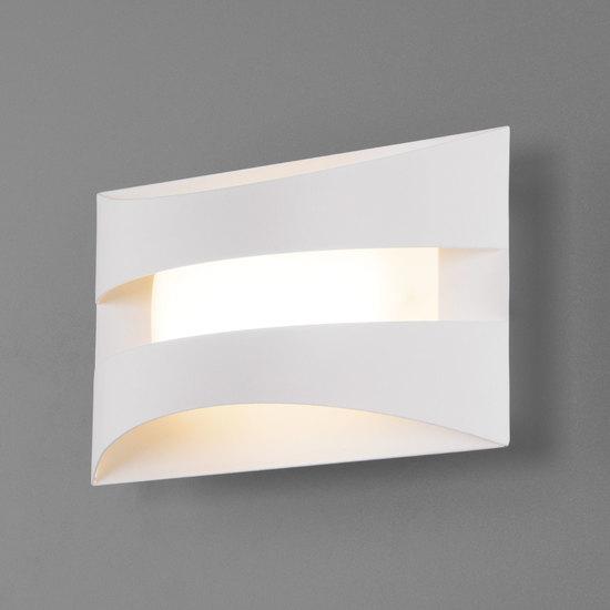 Фото №2 Настенный светодиодный светильник 40144/1 LED белый