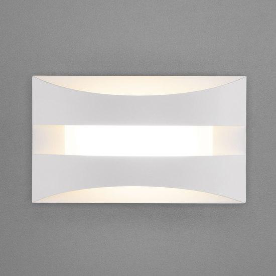 Фото №3 Настенный светодиодный светильник 40144/1 LED белый