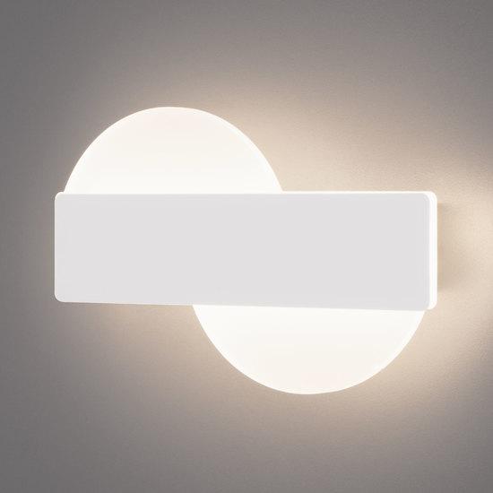 Фото №2 Настенный светодиодный светильник 40143/1 LED белый