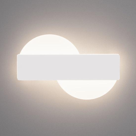 Фото №3 Настенный светодиодный светильник 40143/1 LED белый