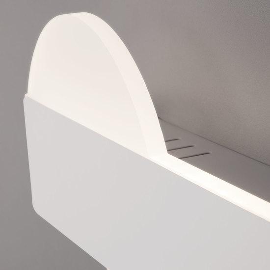 Фото №4 Настенный светодиодный светильник 40143/1 LED белый