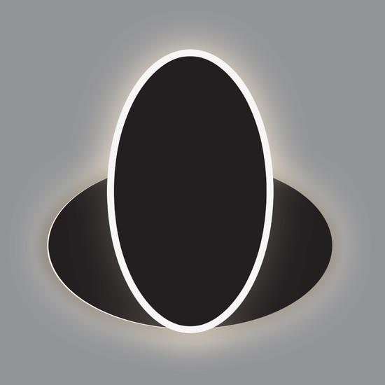 Фото №2 Настенный светодиодный светильник 90315/2 черный