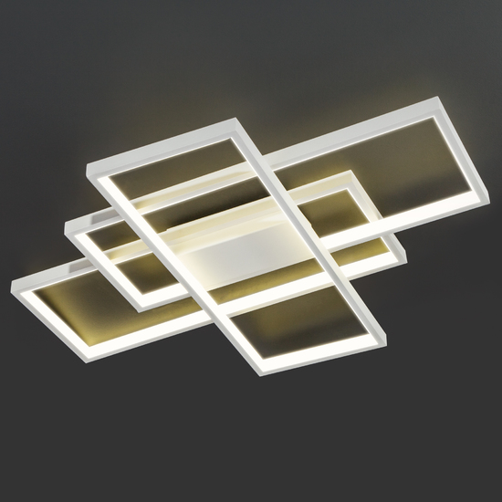 Фото №2 Потолочный светодиодный светильник 90177/3 белый