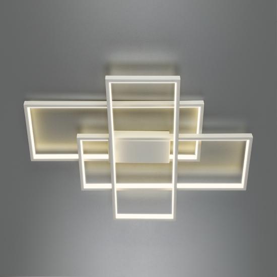 Фото №4 Потолочный светодиодный светильник 90177/3 белый