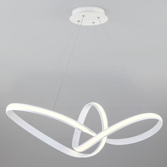 Фото №2 Подвесной светодиодный светильник 90174/1 белый