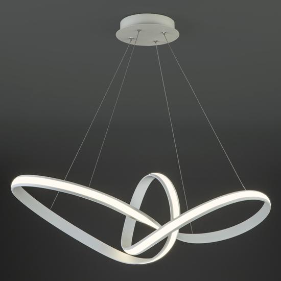 Фото №4 Подвесной светодиодный светильник 90174/1 белый