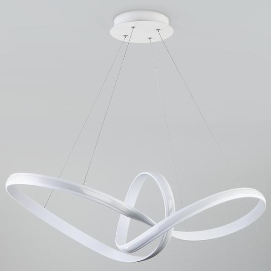 Фото №5 Подвесной светодиодный светильник 90174/1 белый
