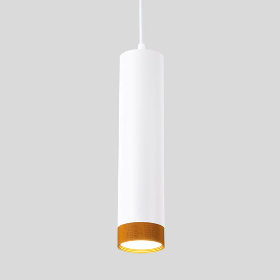 Фото №2 Подвесной светодиодный светильник 50164/1 LED белый/золото