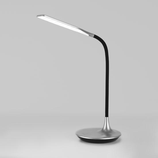 Фото №2 Светодиодная настольная лампа с сенсорным управлением 80422/1 серебристый