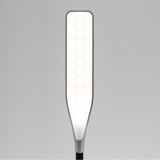 Фото №6 Светодиодная настольная лампа с сенсорным управлением 80422/1 серебристый