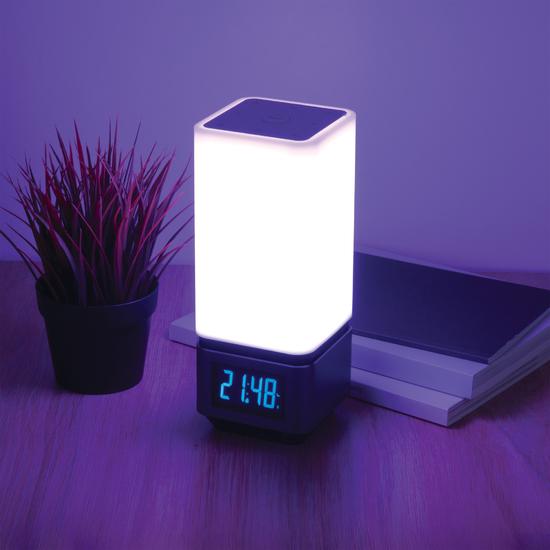 Фото №9 Smart-лампа с Bluetooth-колонкой 80418/1 серебристый